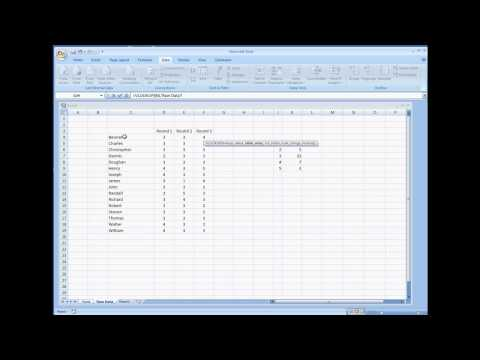 Using VLOOKUP and MATCH To Retrieve Data from A Table Excel Tutorial