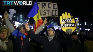 Romania Protests: Tens of thousands rally against new law