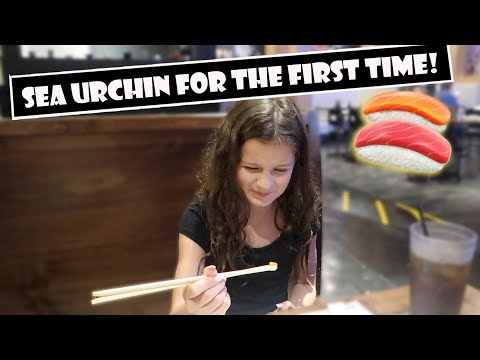 Sea Urchin For The First Time 🍣 (WK 384.7)   Bratayley