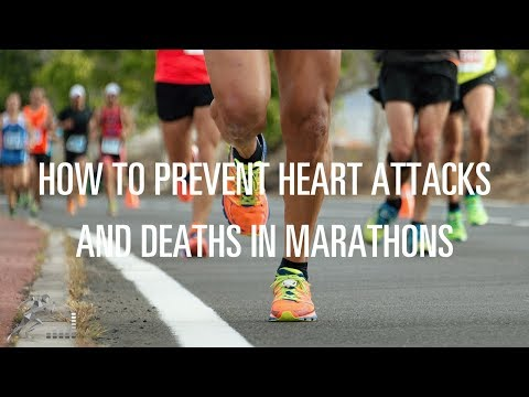 Tips to prevent heart attacks and deaths while running a marathon