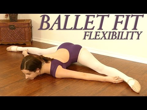 Ballet Fit Flexibility Challenge! Full Body Stretch & Toning Exercises, Beginners At Home Workout