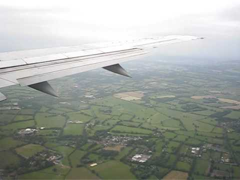 Landing at London Gatwick on a BA flight from Manchester