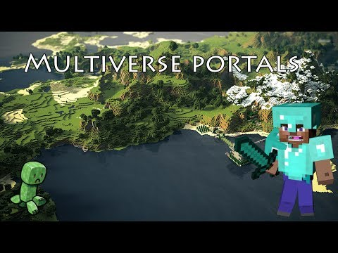 Multiverse Portals - Come Settarli #2 [Minecraft Plugin]