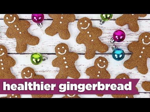 Healthier Gingerbread Cookies Recipe!  - Mind Over Munch