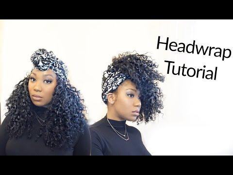 Easy Turban /Head-wrap Tutorial | Curly Monroe