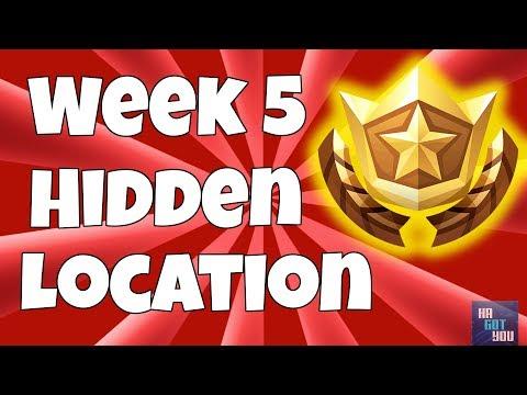Free Battle Star Location Week #5 (Secret Blockbuster Challenge Coordinates)
