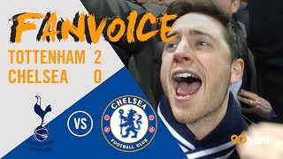 Dele Alli goals see Spurs win 2-0 to end Chelsea Run | Tottenham 2-0 Chelsea | 90min FanVoice