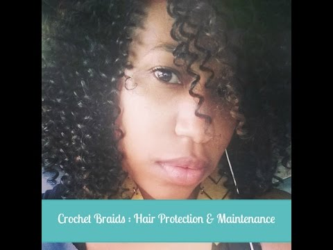 Crochet Braids : How to Keep Your Hair Moisturized