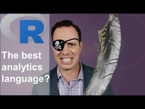 Is R the best language for data science jobs? (2018)