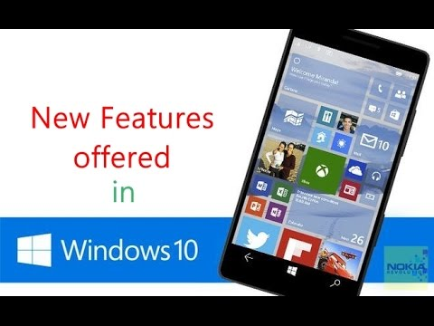 What are the features of Windows Phone 10 for Microsoft Lumia 730, 830, 930,1020, 520 Phones