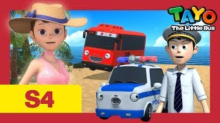 ⭐Tayo S4 #24⭐A present for Hana l Tayo the Little Bus l Season 4 Episode 24