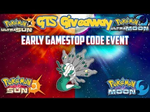 Pokémon SUN & MOON/ULTRA GTS GIVEAWAY |  | GOT THAT GAMESTOP CODE EARLY | LETS GO! | CHECK OT
