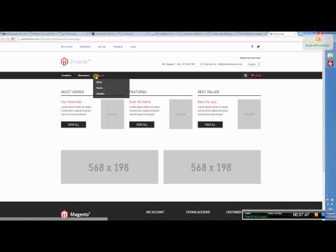 Zenstore - Responsive magento theme - Install theme