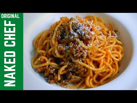 Grandma's simple Spanish Spaghetti with meat sauce recipe