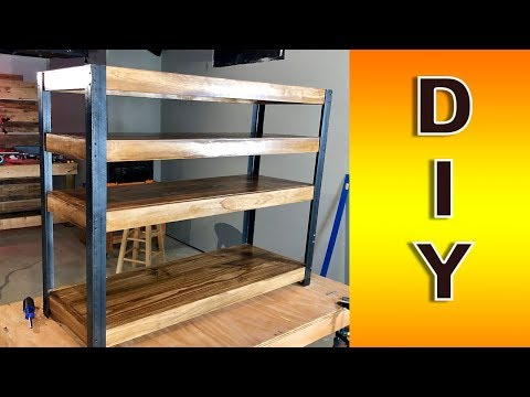 Easy DIY Bookshelf how-to