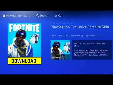 How To Get Playstation Plus Skins Pack for FREE! (NEW FORTNITE PS4 PLUS SKIN + GLIDER PACK!)