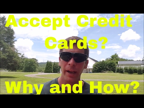 Accept Credit Cards in the Lawn Business - Why and How?