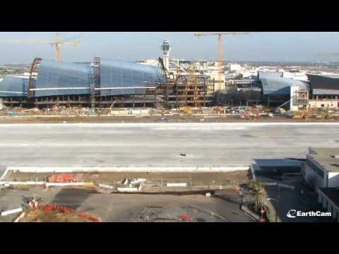 Official LAX Bradley Terminal Renovation Time-Lapse