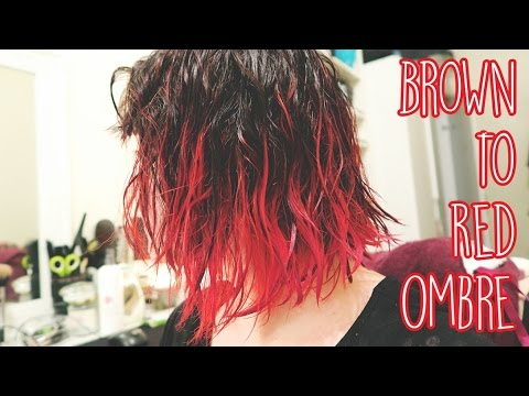 Dying My Hair Red: Bleach London I Saw Red
