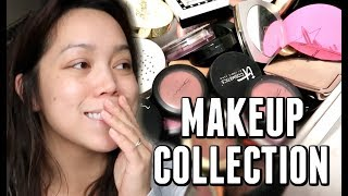 My Makeup Collection 5 YEARS LATER! -  ItsJudysLife Vlogs