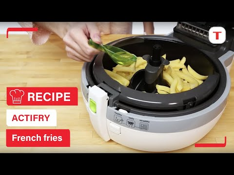 How to make crispy ActiFry French Fries with only 1 spoon of oil