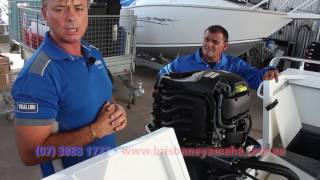 How to  care for and run-in your new Yamaha Outboard Motor