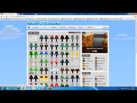 how to get a minecraft skin from minecraftskins.net