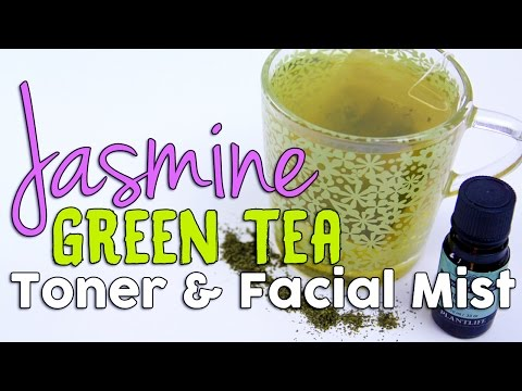 DIY Face Toner and Facial Mist Using Natural Green Tea and Tea Tree Essential Oil