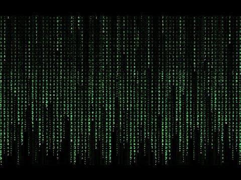 How to make Matrix rain in command prompt?