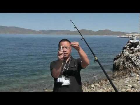 Fishing Tips- How to cast easier with that long leader line