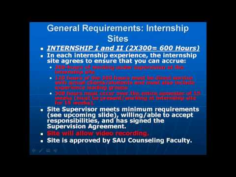 Internship Application Process   Video