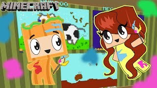 Minecraft Pixel Painters with Dollastic Plays / Gamer Chad