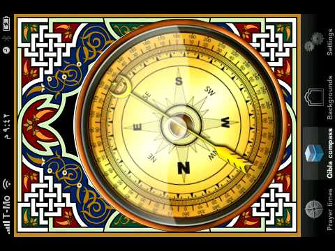 Islamic Compass - Qibla Finder and Global Prayer Times - for Mobile Phones