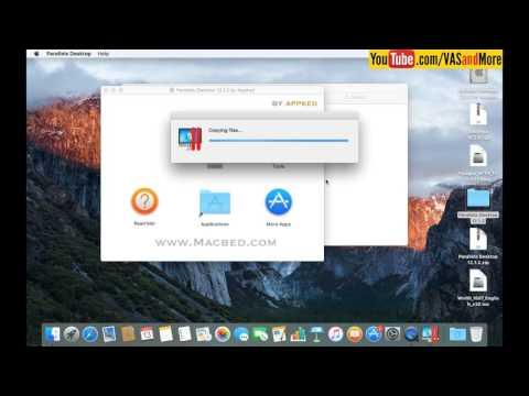 Cài phần mềm máy ảo Parallel Desktop cho MACOS