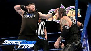 Baron Corbin vs. Kevin Owens: SmackDown LIVE, Feb. 13, 2018
