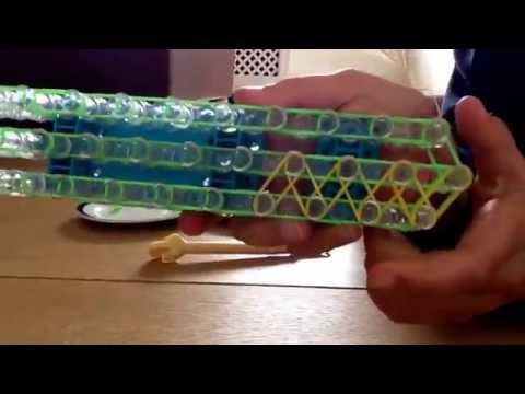 How to make the rainbow loom cobra bracelet:very EASY