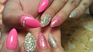 Easynailtutorials Acrylic Nails Nail Art Nail Designs Gel Nails