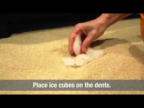 How to Fix Furniture Dents in Carpet | Home Hacks