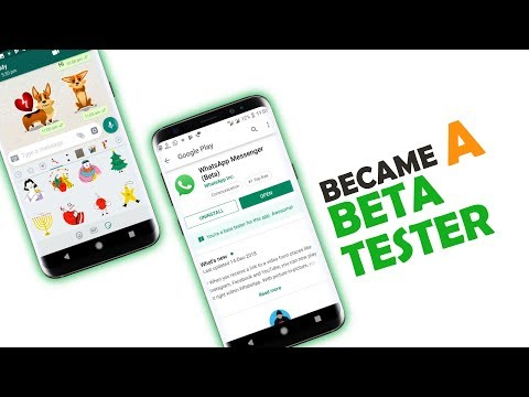 Enable Whatsapp Stickers on Every Whatsapp Account 🍃Became a Beta Tester