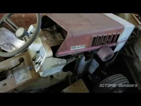 My Vintage Equipment Part 2 | 1970s Sears Suburban ST10 Tractor/Mower
