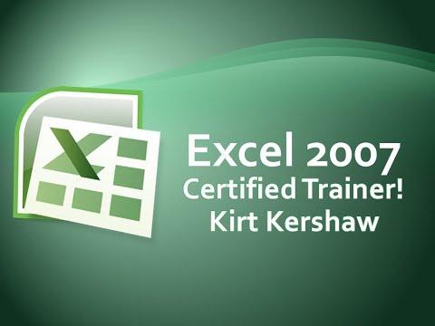 Excel 2007: Customize Quick Access Toolbar