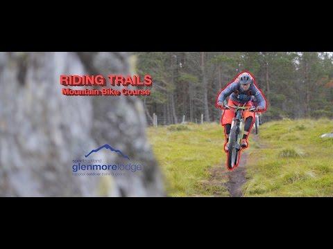 Mountain Biking with Glenmore Lodge