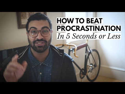How To Stop Procrastinating In 5 Seconds or Less