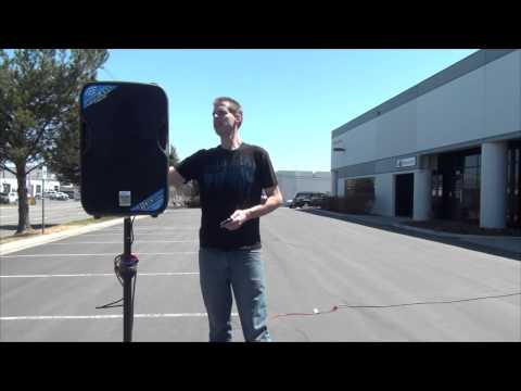 Alto Professional TS115W Bluetooth Demonstration - Planet DJ