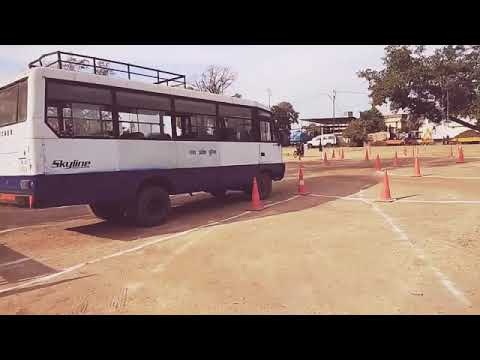 MP Police Constable driver (Driving)  test 2018