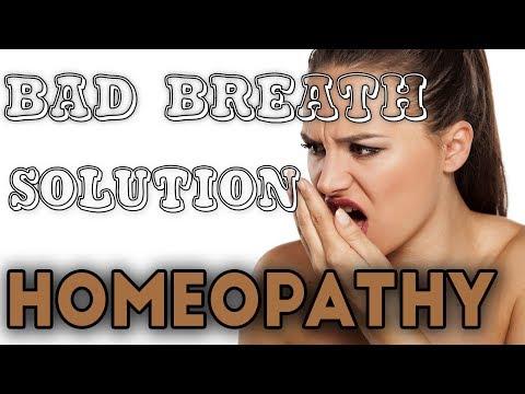 Bad Breath || Homeopathy || मुँह के गंध को कैसे ठीक करे || Foul Breath