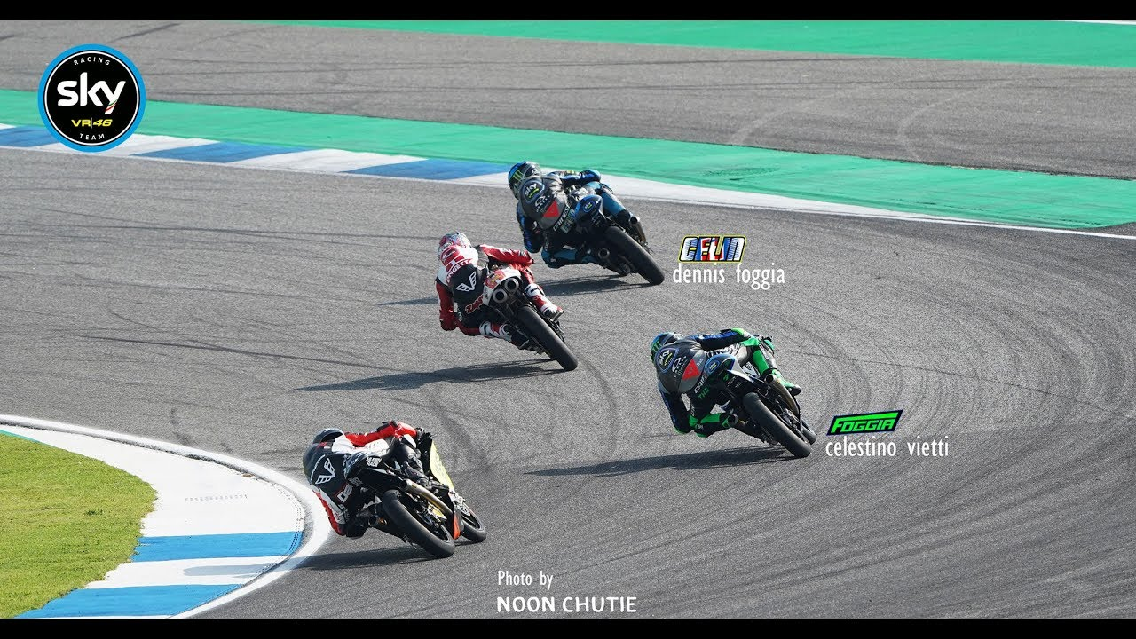 Sky Racing Team VR46 moto3 Race