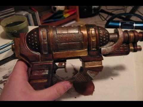 Steampunk gun tutorial