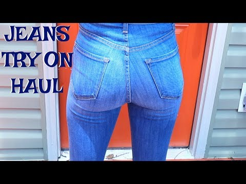 JEANS THAT MAKE YOUR BUTT LOOK GOOD!! || Fashion Nova