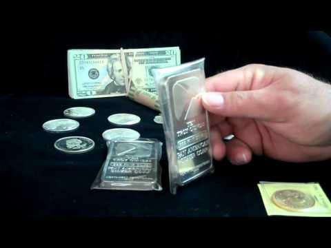 Basics for buying silver and gold